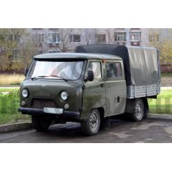 """Тент на УАЗ 39094 """"Фермер"""" камуфляж (850 гр.) нового образца"""