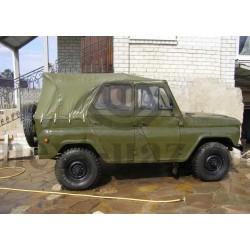 Тент УАЗ 469 Хантер (хаки)