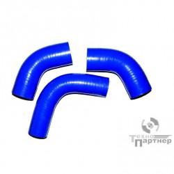 Ремкомплект патрубков радиатора УАЗ 452/469 ДВ. 417 (90 Л/С) силикон (3 ШТ)