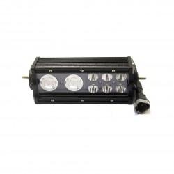 Лайт-бар светодиодный «REDBTR» GHOSTBUSTERS ближний/дальний 38W (10W*2+3W*6) гибрид 20 см, IP68