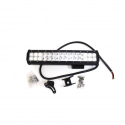 Лайт-бар светодиодный (балка) «REDBTR» комбо 90W (3W*30), 2-рядный 37 см, IP67