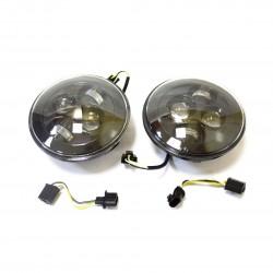 Фара светодиодная «REDBTR» встраиваемая ближний/дальний свет 40W (10W*4), прям. Ø17.8 см, IP68