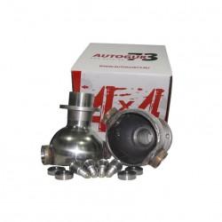 Опора шаровая со стандартным углом кастора, мост СПАЙСЕР, гибрид на подшипниках (2 шт. + комплект шкворней) «AUTOGUR73»
