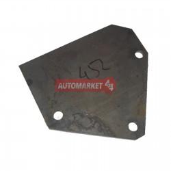 Кронштейн крепления рулевого механизма и ГТЦ к раме УАЗ-452