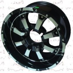 Диск колесный литой 16 (УАЗ) 16*8 ET 0 5/139.7 DIA 110.1 PATRIOT CITY-8 Глянцевый черный