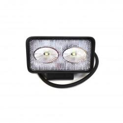 Фара светодиодная «REDBTR» рабочего света 20W (10W*2), прям. 11 см, IP67
