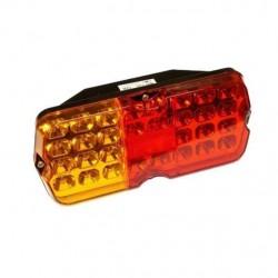 Фонарь задний светодиодный УАЗ (желто-красный)